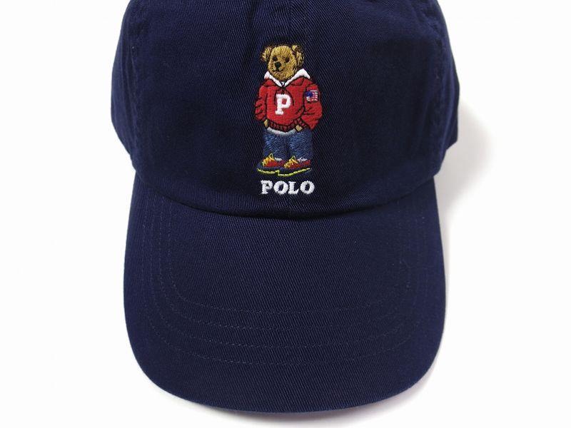 Polo Ralph Lauren Polo Bear Cap Navy ポロ ラルフ ローレン ポロベアー